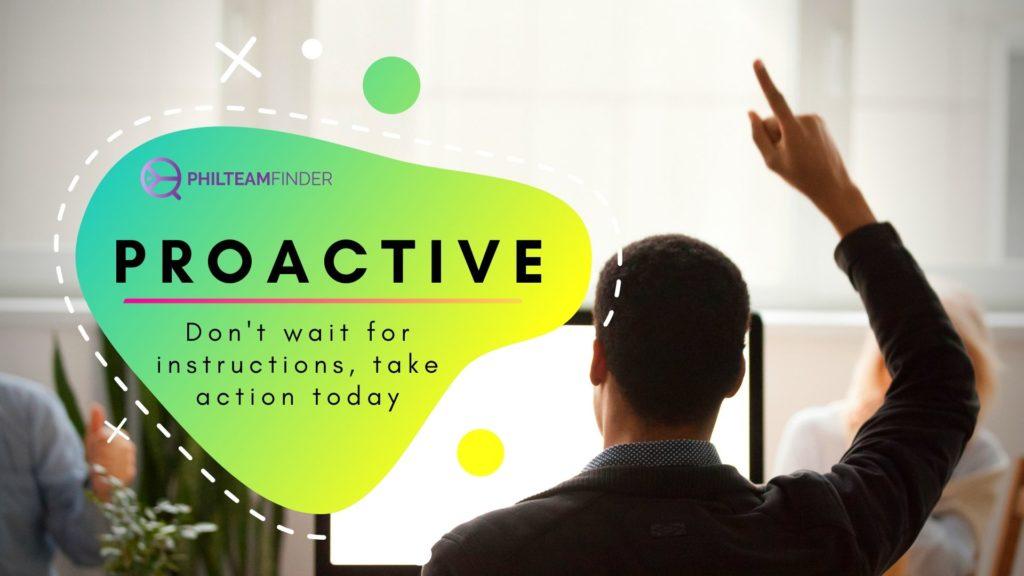 Trait of Highly Effective Employee - Proactive
